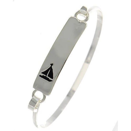 Sailboat Rectangle Bracelet BM7354ATS