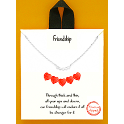 Friendship Delicate Necklace