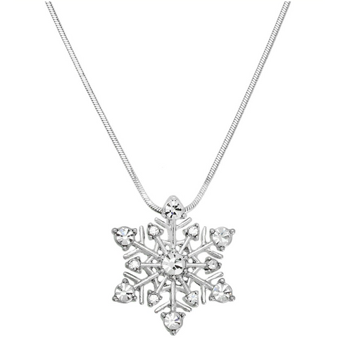 Snowflake Pendant Necklace 11.J0415-CR