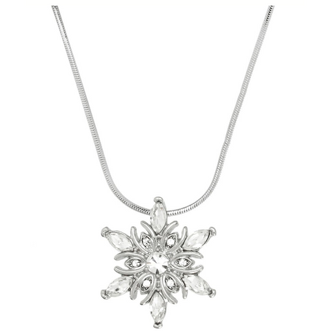 Snowflake Pendant Necklace 11.J0309-CR