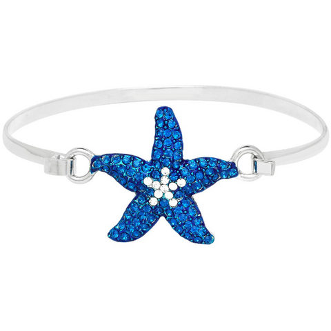 Starfish Bracelet Blue 10.B0133
