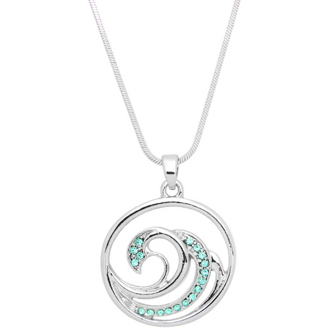 Wave Pendant Necklace 11.J0669