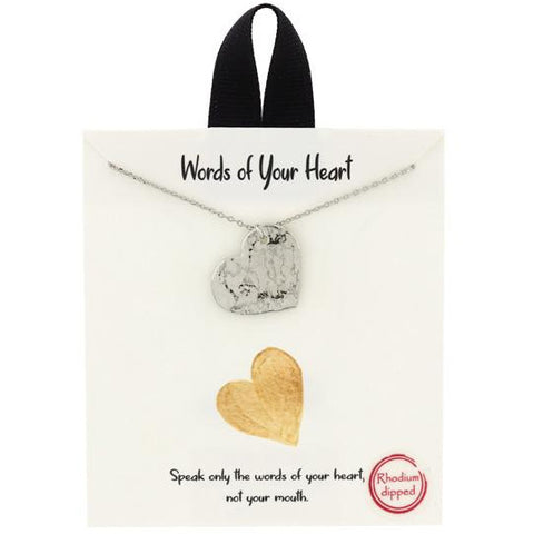 Words of Your Heart Necklace