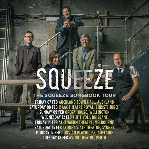 """THE SQUEEZE SONGBOOK 2019"" USA TOUR-OUCH MAGAZINE USA,NY"