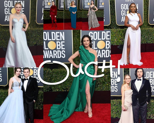Ouch! Magazine's Golden Globes 2019 Best Dressed and the winners list-OUCH MAGAZINE USA,NY