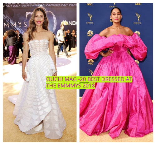 20 Best Dressed Old Hollywood Style at the Emmys 2018 Red-carpet-OUCH MAGAZINE USA,NY