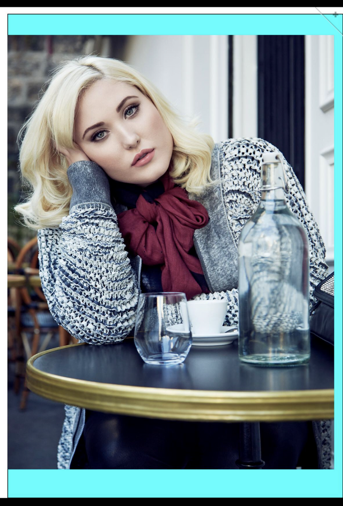 "Hayley Hasselhoff x Ouch Magazine "" beauty under 30 issues"""