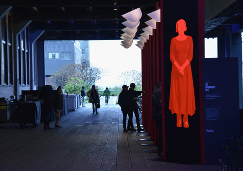 "Hulu's ""The Handmaid's Tale"" Interactive Art Installation Opens on the High Line"