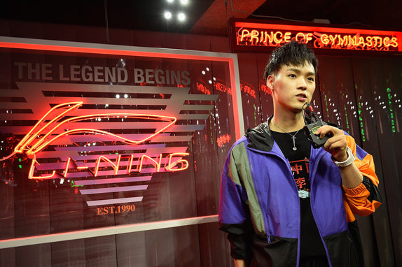 Chinese sports brand LI-NING debuts at Paris Fashion Week