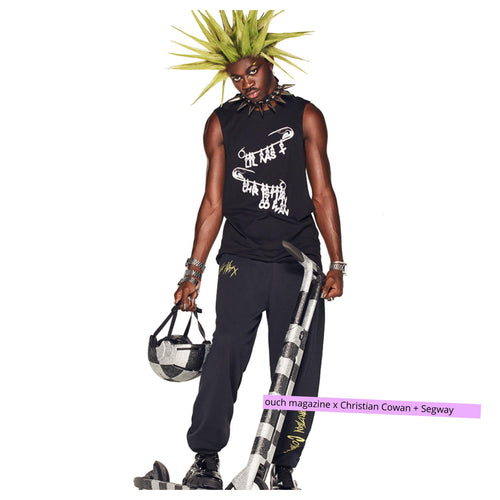 Christian Cowan + Segway + Lil Nas Collaborate for NYFW - OUCH MAGAZINE