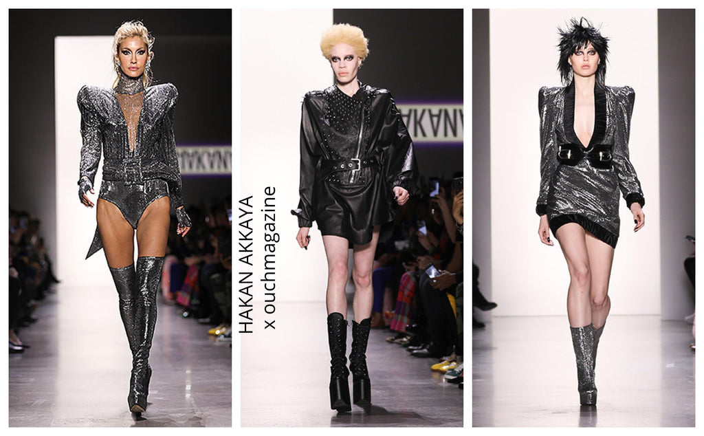 HAKAN AKKAYA.  / GLAM ROCK COLLECTION – NYFW  aw19