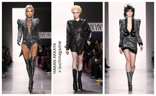 HAKAN AKKAYA. / GLAM ROCK COLLECTION – NYFW aw19-OUCH MAGAZINE USA,NY