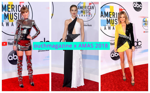 Bling ! Bling! the style was on at this years AMAS RED CARPET-OUCH MAGAZINE USA,NY