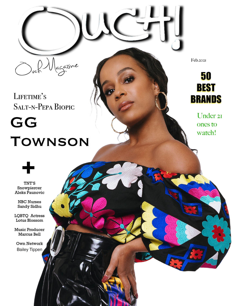 Lifetimes' Salt and Pepa Bio Pic star actress GG Townson