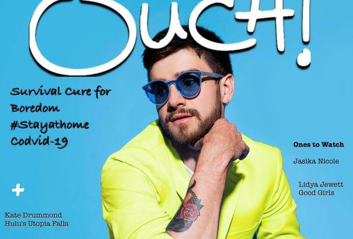 Cover Story with Musician Matt Legrand for Ouch! Magazine
