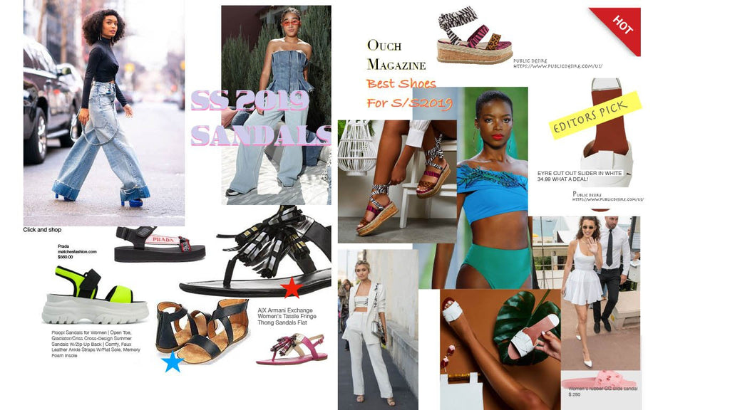 Shop shoe style pick from Ouch Magazine June 2019 issue
