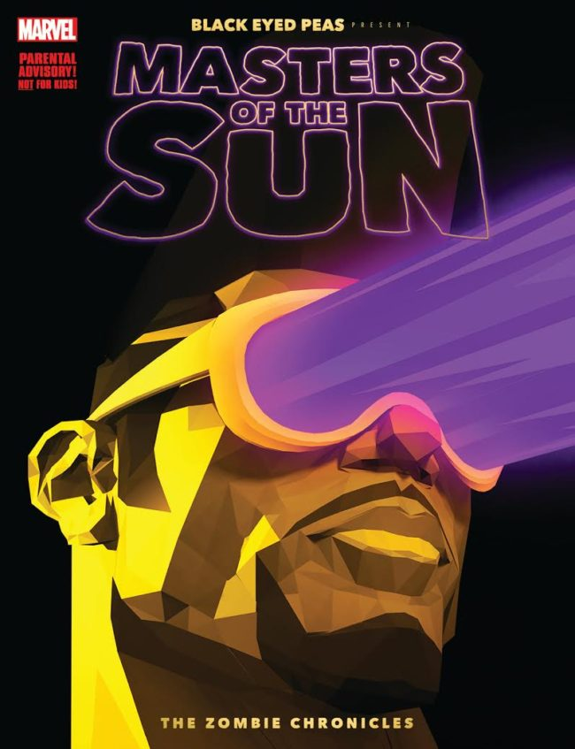 The Black Eyed Peas Debut All-New Original Graphic Novel, MASTERS OF THE SUN – THE ZOMBIE CHRONICLES