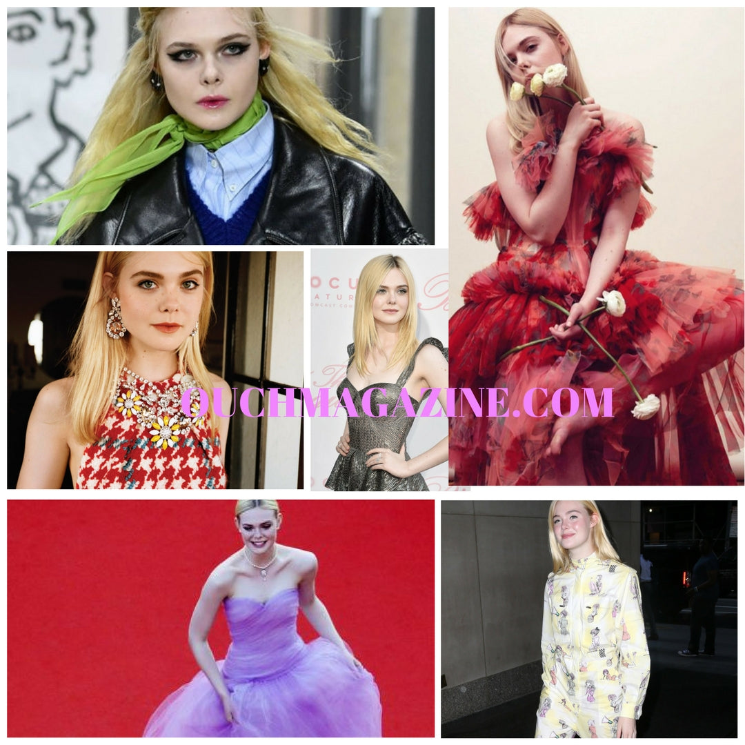 Actress Elle Fanning #Best-dressed Style