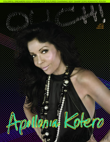 Ouch Magazine- Print on Demand -Apollonia Kotero - OUCH MAGAZINE