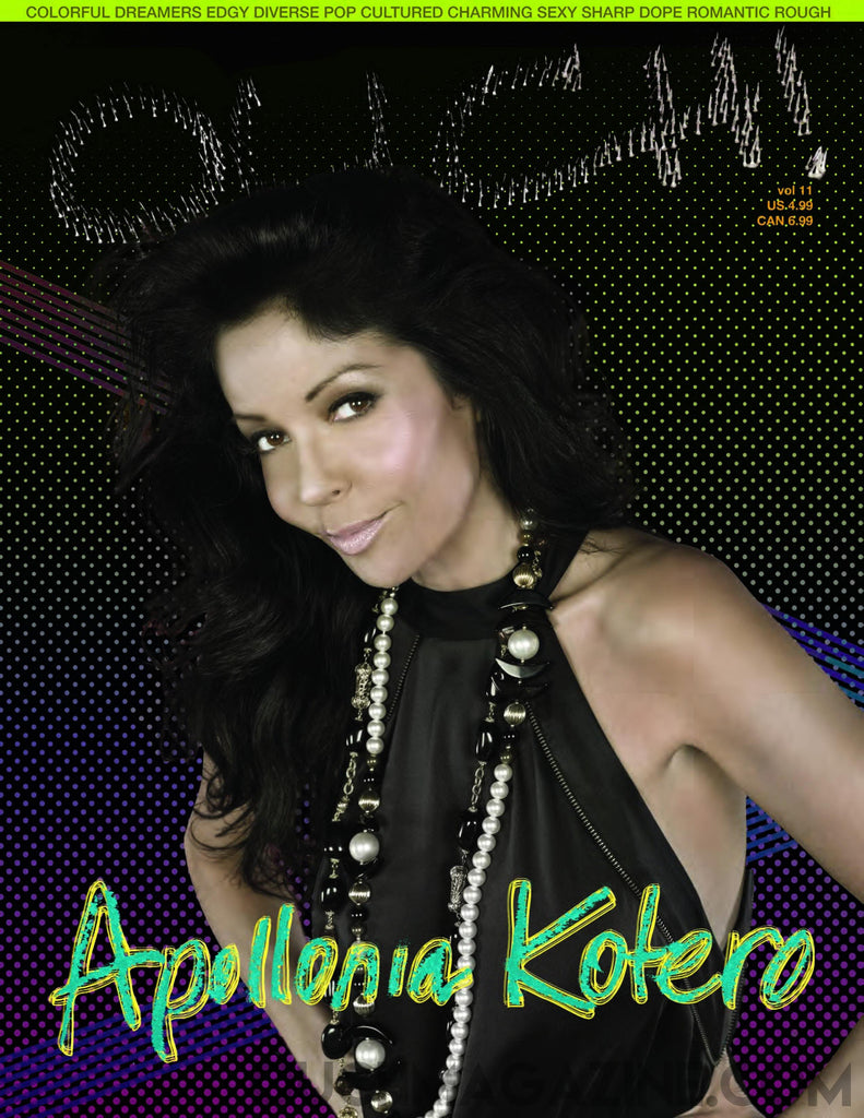 Ouch Magazine- Print on Demand -Apollonia Kotero - OUCH-O-HOLICS SHOP OBSESSIONS