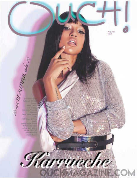 Ouch Magazine- Print on Demand- Karrueche - OUCH MAGAZINE