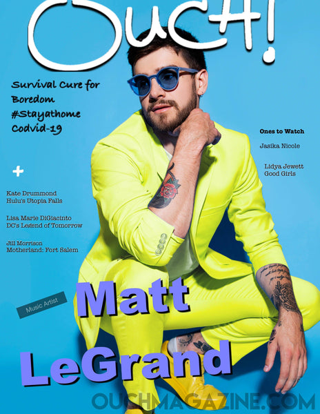 Ouch Magazine- Print on Demand - Matt Legrand - OUCH MAGAZINE