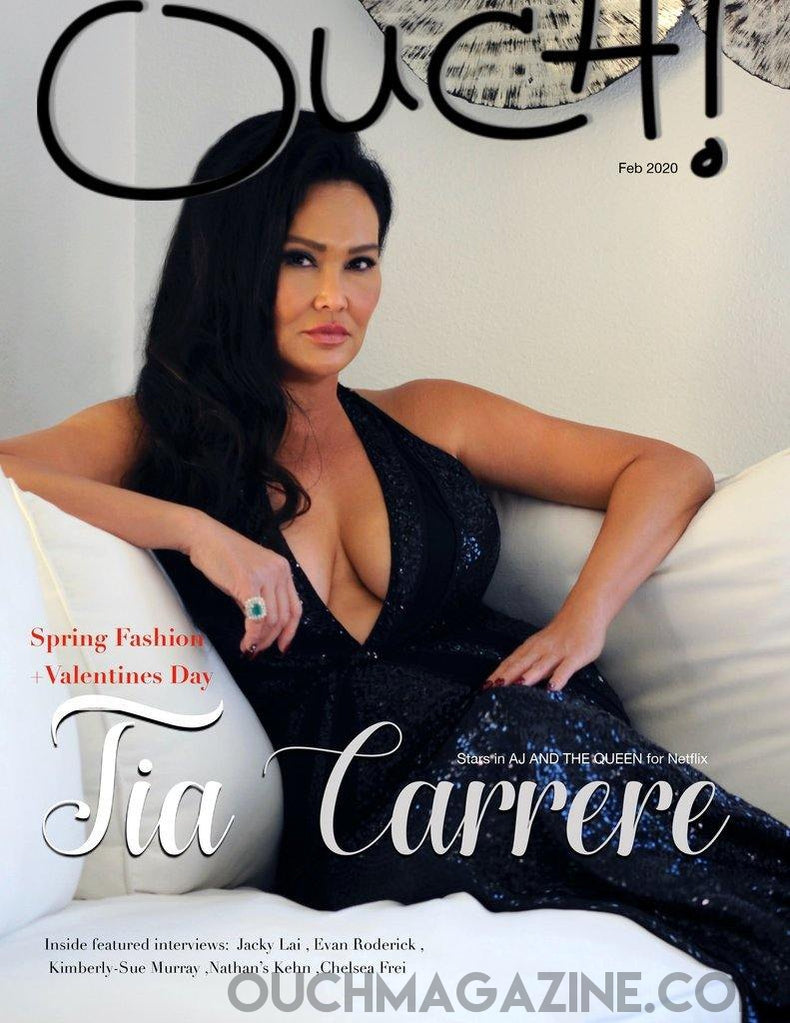 ouch magazine- print on demand-  Tia Carrere.