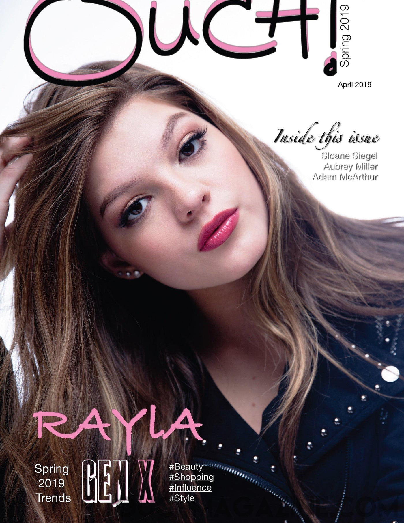 Ouch Magazine  - Singer Rayla - Print on Demand - OUCH-O-HOLICS SHOP OBSESSIONS