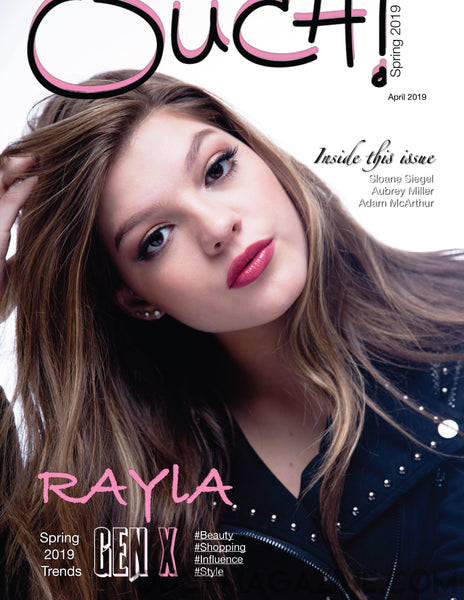 Ouch Magazine  - Singer Rayla - Print on Demand - OUCH MAGAZINE