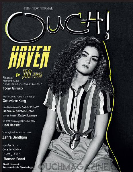 Ouch Magazine- Print on Demand-HAVEN  /PRE-BUY  2020 - OUCH MAGAZINE