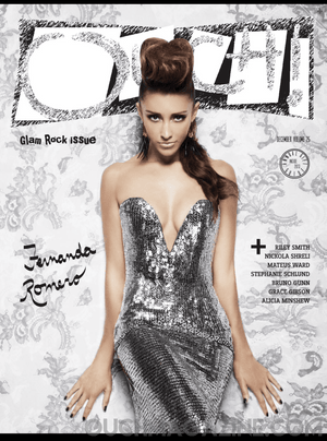 Ouch Magazine -Fernanda Romero   Print on Demand - ouch-o-holics-shop-obsessions