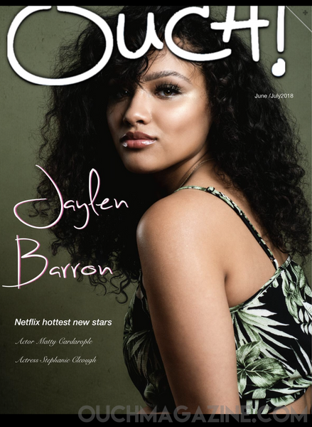 Ouch magazine x Jaylen Barron  Print on Demand - OUCH-O-HOLICS SHOP OBSESSIONS