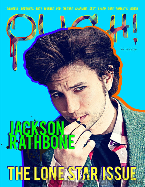 Jackson Rathbone  'lonestar issue' - OUCH-O-HOLICS SHOP - OUCH MAGAZINE