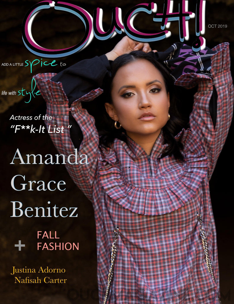 Ouch Magazine - Print on Demand - Amanda Grace Benitez - OUCH MAGAZINE