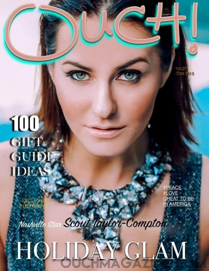 Ouch Magazine -Scout Taylor- Compton  Print on Demand - OUCH MAGAZINE