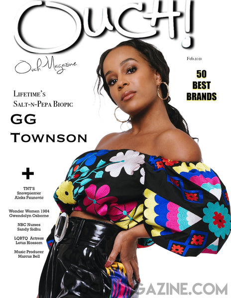 OUCH MAGAZINE  - GG TOWNSON - PRINT ON DEMAND- FEB/MARCH 2021.