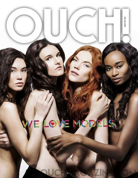 Ouch Magazine Models Edition - Print on Demand - OUCH MAGAZINE