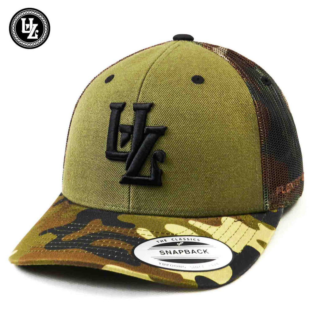 Buck Camo Trucker (curved)