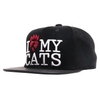 Boné I Love My Cats Re-edition Snapback