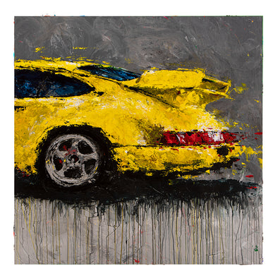 Abstracted Air 2 - 1994 911 964 Carrera RS 3.8 - Micro
