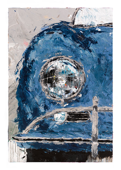 Abstracted Air 4 - 1957 Carrera GT Speedster - Micro