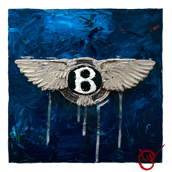 Bentley Emblem 1 - Blue