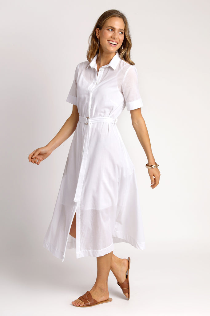 The Audrey Dress - White