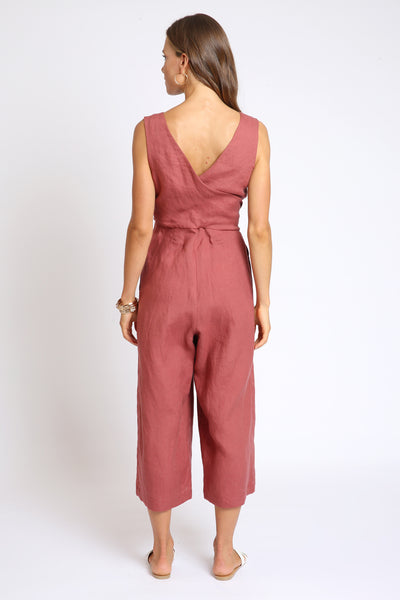 The Mary Jumpsuit - Dark Clay