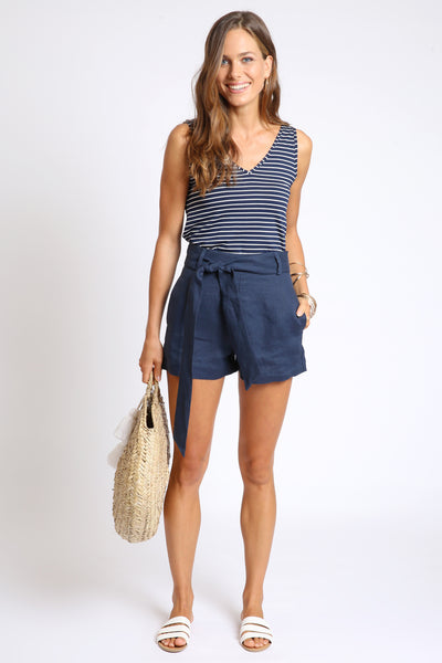The Shelly Short - Navy