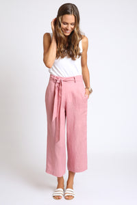 The Gianna Pant - Light Clay