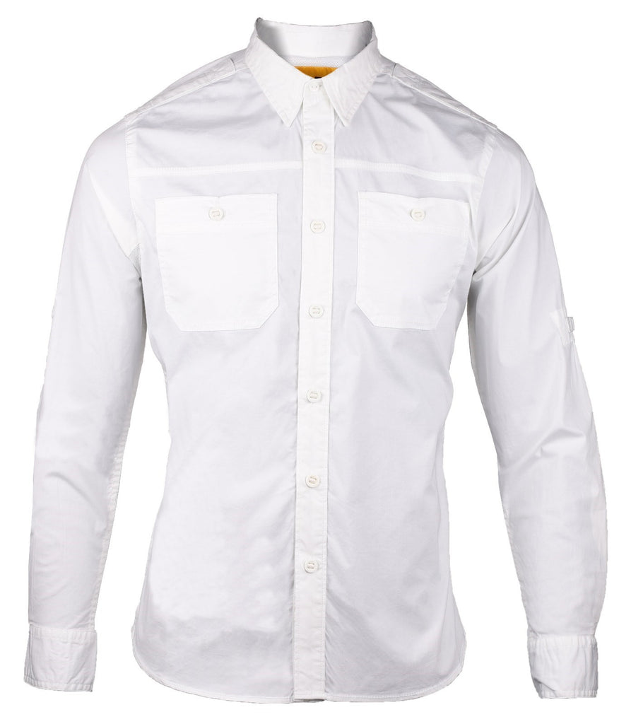 Momentum Long Sleeve Shirt White