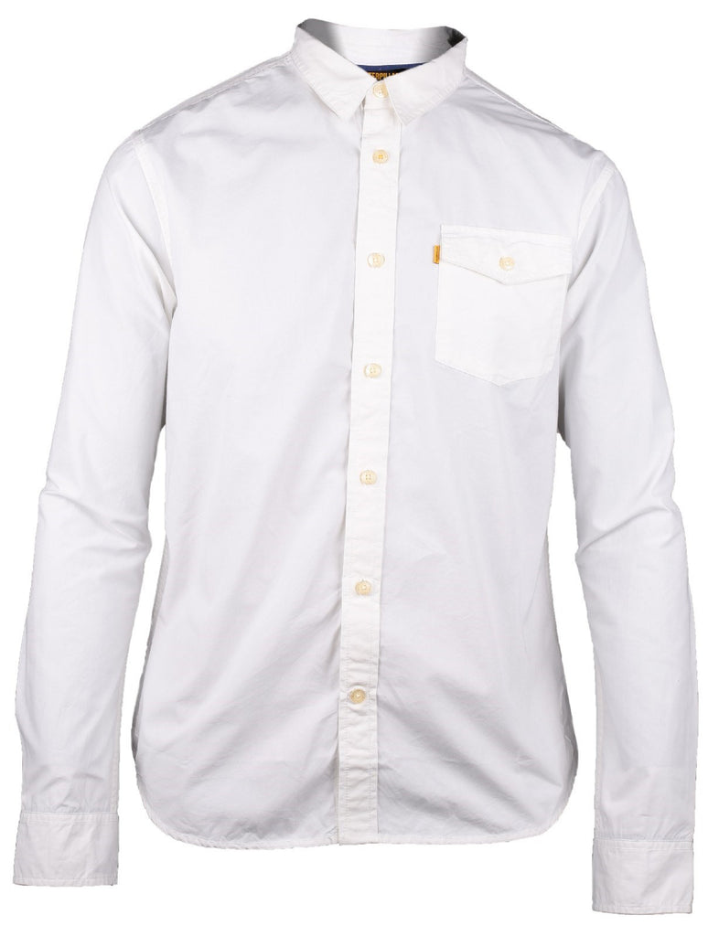 Exchange Long Sleeve Shirt  White