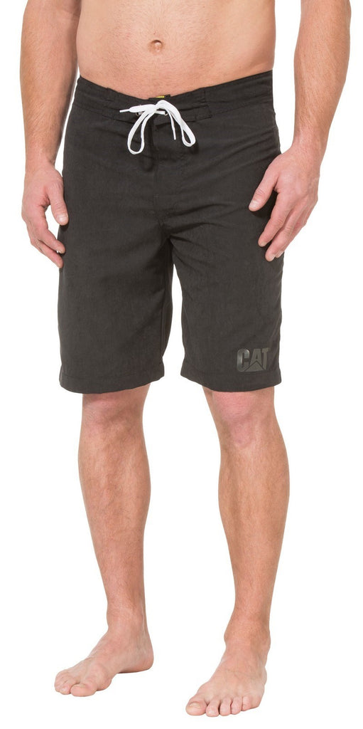 Logo Board Shorts  Black