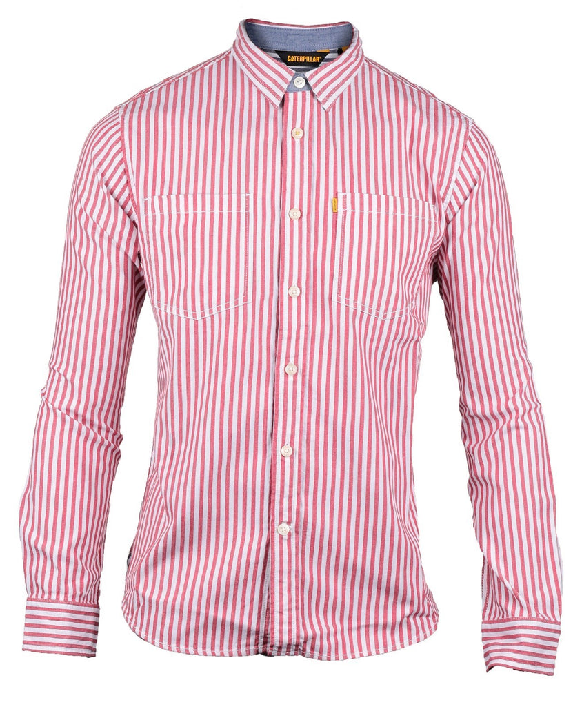 M Street Long Sleeve Shirt Red